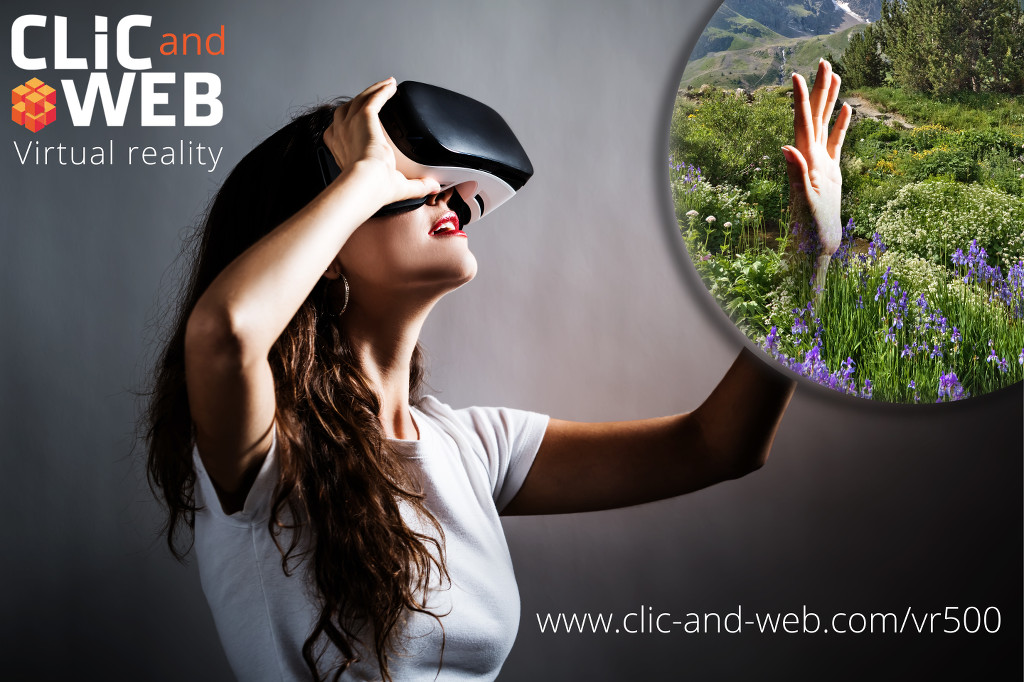 CLIC and WEB - Immersive 360-degree Augmented Virtual Reality : the Lautaret Alpine Garden.