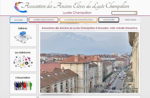 site-internet-association-anciens-lycee-champollion